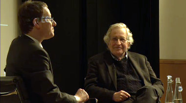 """Noam Chomsky at the British Library: """"The creation of libraries was a bigger change than the growth of Internet"""""""