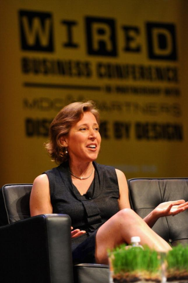 """Susan Wojcicki, senior vicepresident at Google: """"We have cancelled Google Reader because it was not growing and it has substitutes"""""""