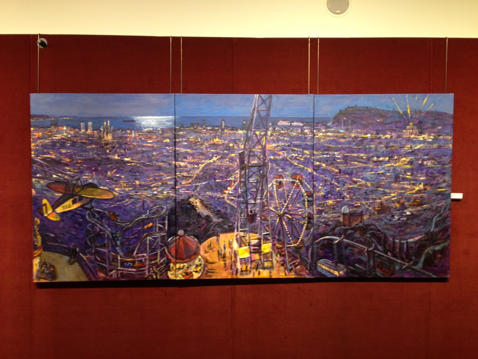 El Palau del Joguet, un dels protagonistes de l'exposició d'enguany de Ramon Moscardó a la Sala Parés